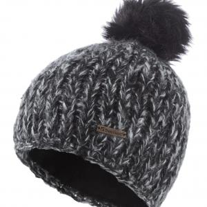 Trekmates Women's Moya Knit Hat, BLK/BLK