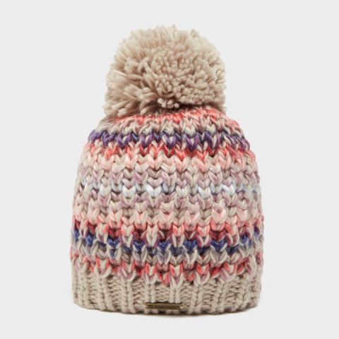 Trekmates Women's Rebecca Knitted Hat, Multicolour/Multicolour