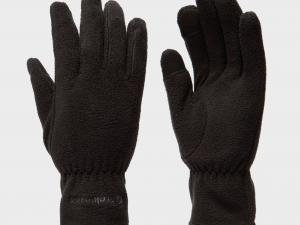 Trekmates Women's Touchscreen Fleece Gloves - Blk/Blk, BLK/BLK