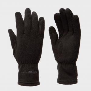 Trekmates Women's Touchscreen Fleece Gloves - Blk/Blk, BLK/BLK