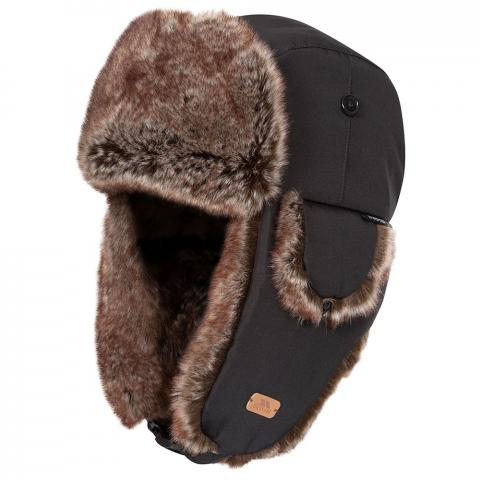 Trespass Dapper Faux Fur Winter Hat