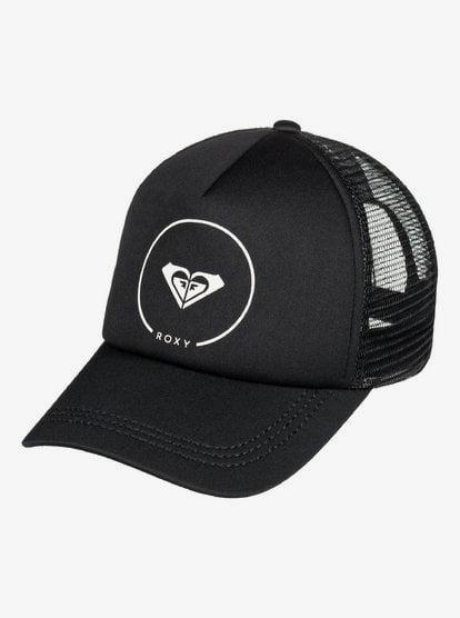 Truckin - Trucker Cap for Women - Black - Roxy