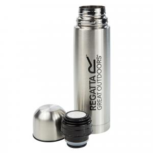 0.5 Litre Vacuum Camping Flask Silver