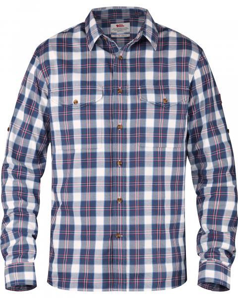 Fjallraven Men's Long Sleeve Singi Flannel Shirt