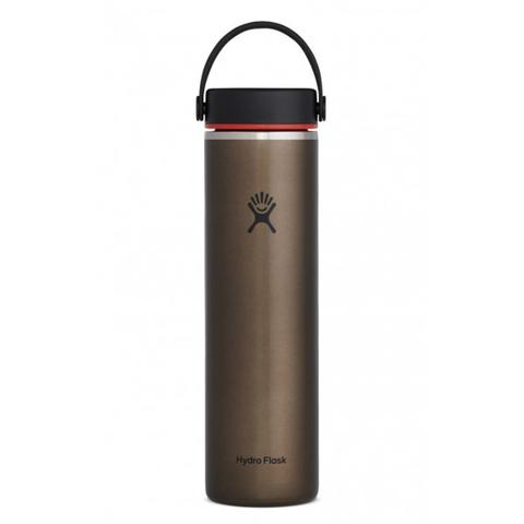 Hydro Flask | 24 oz Lightweight Wide Mouth | Thermos Flask | Obsidian