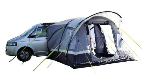 Inflatable Campervan Driveaway Awning - With 2 Person Sleeping Pod