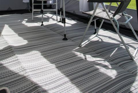 Kampa Rally Plus Extension Continental Cushioned Carpet