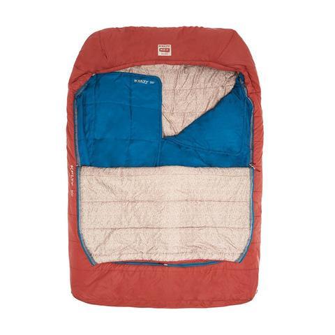 Kelty | Tru.Comfort Doublewide 20°F (-7°C) Double Sleeping Bag | Red
