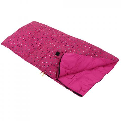 Maui Kids Polyester Lined Sleeping Bag - Cabaret Polka Dot