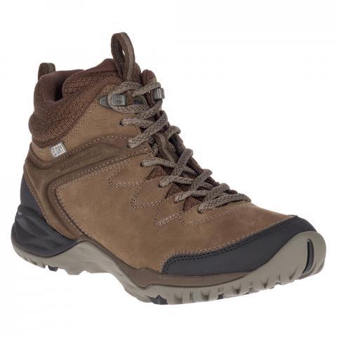 Merrell Womens Siren Traveller Q2 Mid Waterproof Hiking Boots - Slate / Black - 8