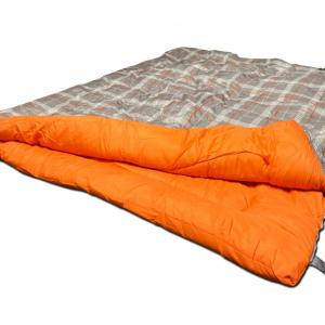 OLPRO Hush Pattern Double Sleeping Bag - 300gsm fill