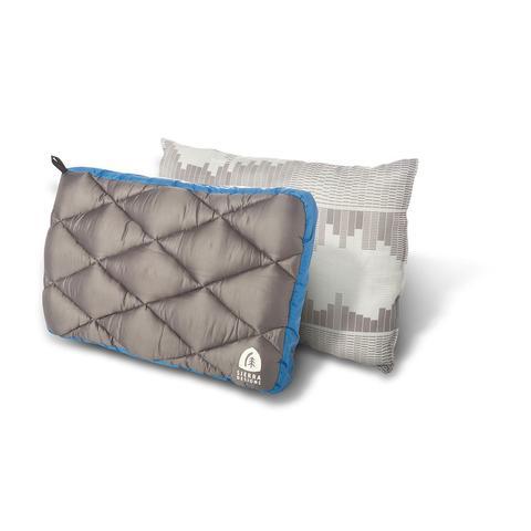 Sierra Designs | Dridown Pillow | Camping Pillow | Blue/Grey