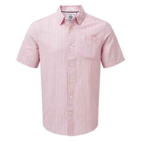 TOG24 Samuel Mens Stripe Shirt - Deep Port