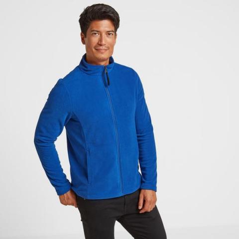TOG24 Shire Mens Fleece Jacket - Royal Blue
