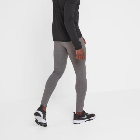 TOG24 Snowdon Mens Thermal Leggings - Grey Marl
