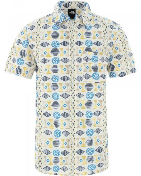 The North Face Men's Short Sleeve Baytrail Print Shirt