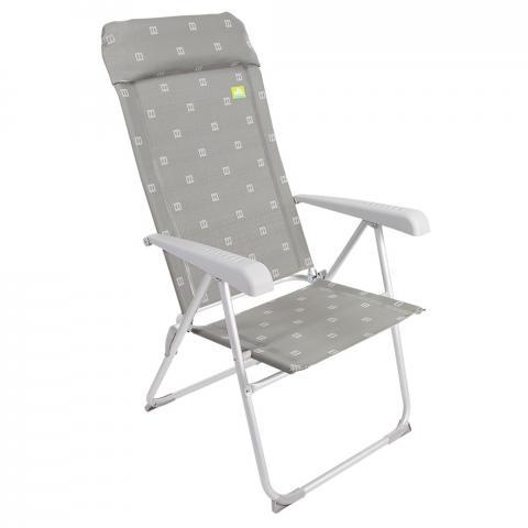 Via Mondo Aluminium High Back Chair