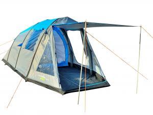 Yellowstone Wingfoot 4 Man Family Air Tent - Blue & Grey