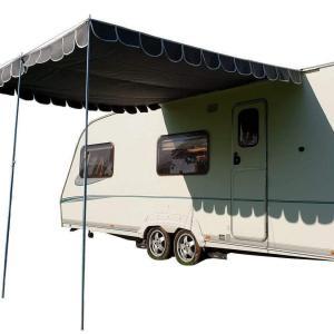 Caravan Sun Shade Canopy Charcoal