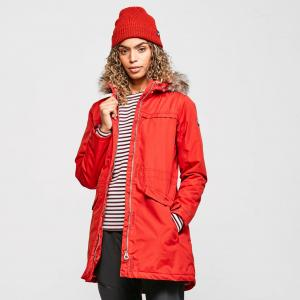 Regatta Women's Sherlyn Parka Jacket, Red/Red