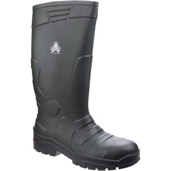 Amblers Teviot women's Wellington Boots in Green. Sizes available:6,7,8,9,10,12