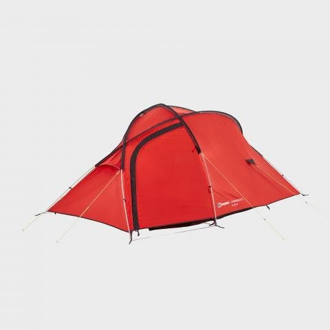 Berghaus Cairngorm 3 Tent, RED/RED