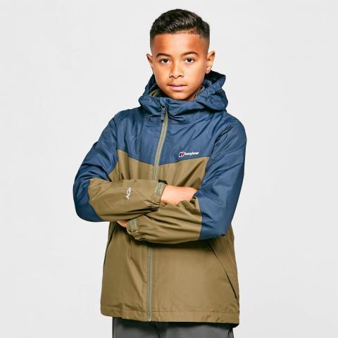 Berghaus Kids' Stokesley 3 in 1 Waterproof Jacket, Navy/BLU