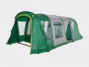 COLEMAN Valdes Deluxe 4 XL Air BlackOut Bedroom Family Tent, Green/Green