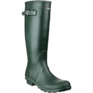 Cotswold Sandringham women's Wellington Boots in Green. Sizes available:4,5,7,8