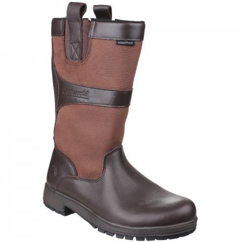 Cotswold Womens/Ladies Ascot Waterproof Pull on Wellington Boots UK Size 8 (EU 42)