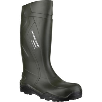 Dunlop D760933 Purofort+ women's Wellington Boots in Green. Sizes available:3,4,5