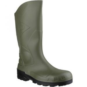 Dunlop W 219E Devon women's Wellington Boots in Green. Sizes available:3,6,8,9,10,11,12