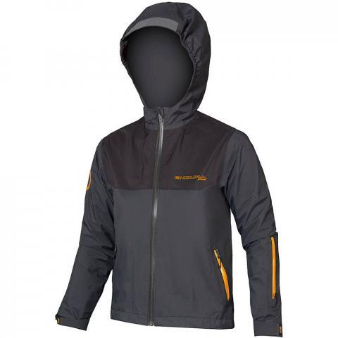Endura Kid's MT500JR Waterproof Jacket - Grey - 9-10 years, Grey
