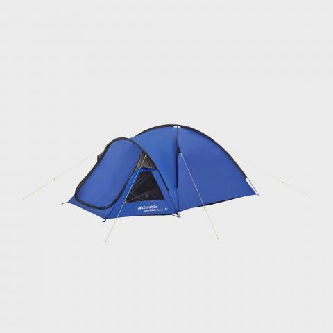 Eurohike Cairns 3 DLX Nightfall Tent, Blue/MBL