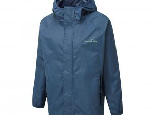 FREEDOMTRAIL Kids' Stowaway Waterproof Jacket, NAVY/KIDS