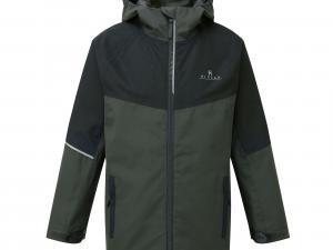 HI-GEAR Kids' Element Waterproof Jacket, PIRATE BLCK/JACKET