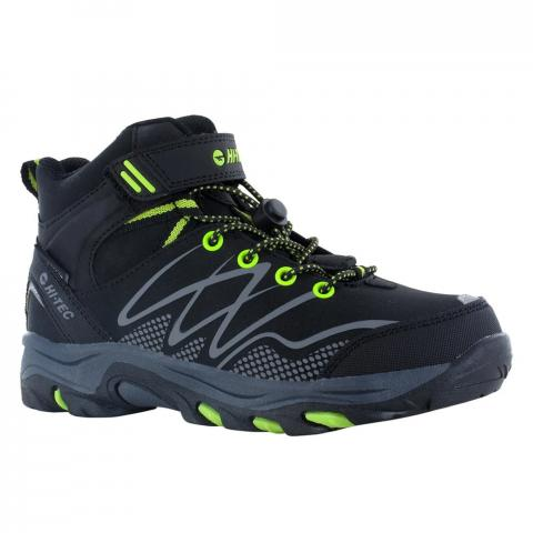 Hi-Tec Kids Blackout Mid Waterproof Walking Boots