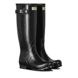 Hunter Field Womens Gloss Wellington Boots