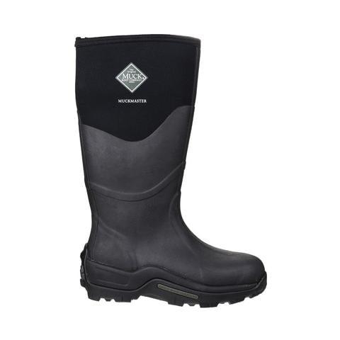 Muck Boots Co   Muckmaster Hi Wellington Boot   Mens Work Boots, Black