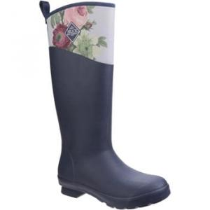 Muck Boots TWT-1RSE Tremont RHS Print women's Wellington Boots in Blue. Sizes available:3