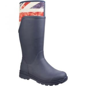 Muck Boots WCC-2VUJ Cambridge Tall women's Wellington Boots in Blue. Sizes available:3