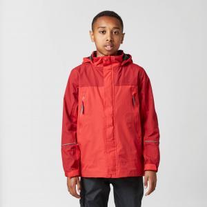 Peter Storm Kid's Mercury Waterproof Jacket, Red/RED