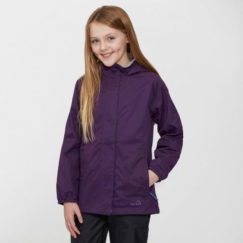 Peter Storm Kids' Wendy II Waterproof Jacket, Purple/Purple
