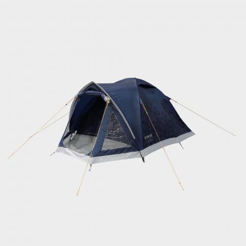 VANGO Devon 300 3 Person Tent, BLUE/BLUE