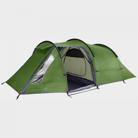 VANGO Omega 350 3 Person Tent, Green/GRN