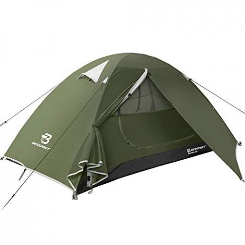Bessport Backpacking Tent for 1-2 Person