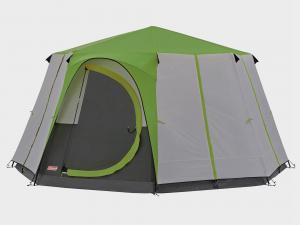 COLEMAN Cortes Octagon 8 Tent, Green/GRN