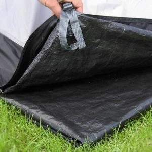 HI-GEAR Radiance 5 Tent Footprint, GREY/FOOTPRINT