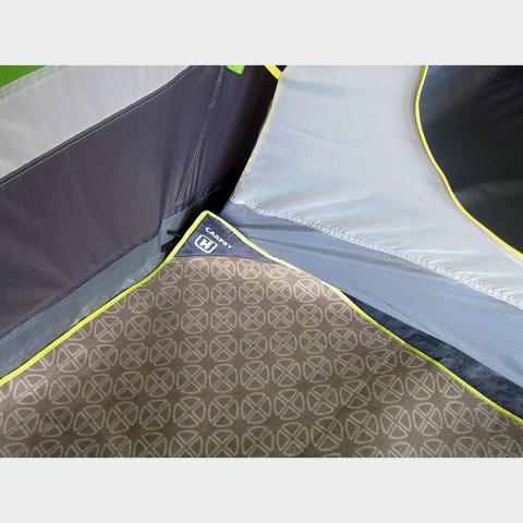 HI-GEAR Vanguard 8 Carpet, MID GREY/CARPET
