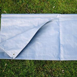 HI-GEAR Zenobia 6 Tent Footprint, BLUE/FOOTPRINT